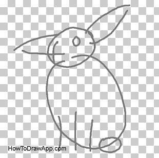 Domestic Rabbit Hare Drawing Easter Bunny PNG