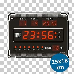Display Device Digital Clock Alarm Clocks Digital Data PNG