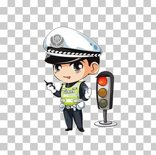 Police Officer Cartoon Traffic Police PNG