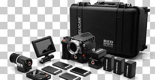 Red Digital Cinema 5K Resolution Digital Movie Camera Photography PNG