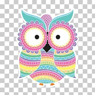 Art Creativity Owl Coloring Book PNG