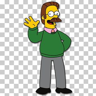 Ned Flanders The Simpsons Game Mr. Burns Homer Simpson PNG