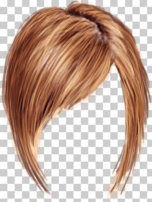 Short Women Hair PNG