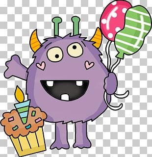 Birthday Internet Coupon Monster PNG