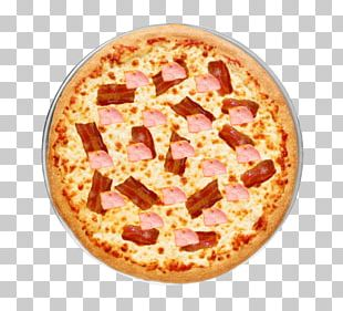 California-style Pizza Sicilian Pizza Bacon Italian Cuisine PNG