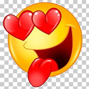 Emoji Emoticon Smiley Love Feeling PNG
