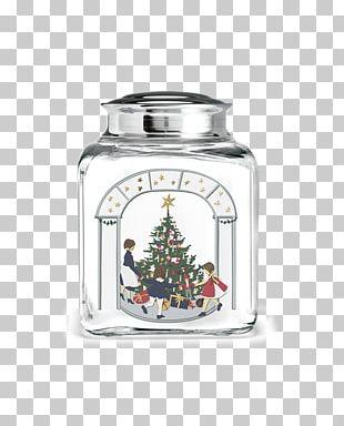 Holmegaard Table-glass Christmas Biscuit Jars PNG