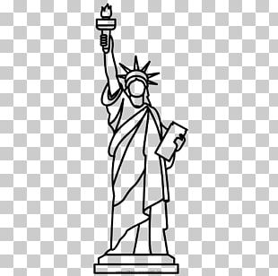 Statue Of Liberty Christ The Redeemer Drawing Painting PNG
