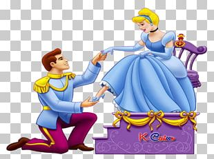 Prince Charming Cinderella Slipper Shoe PNG