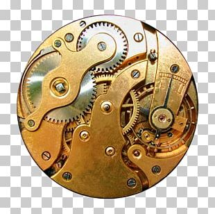 The Time Machine Steampunk Clock Gear Gothic Fashion PNG
