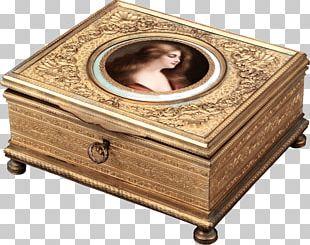 Casket Jewellery Antique Estate Jewelry Box PNG
