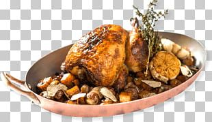 Chicken As Food French Cuisine Roast Chicken Stuffing PNG