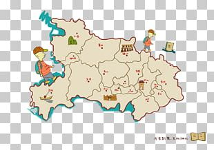 Map Cartoon Drawing Animation PNG