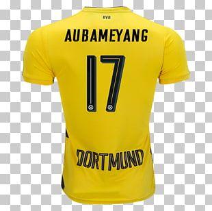 Borussia Dortmund T-shirt Sports Fan Jersey Bundesliga Football PNG
