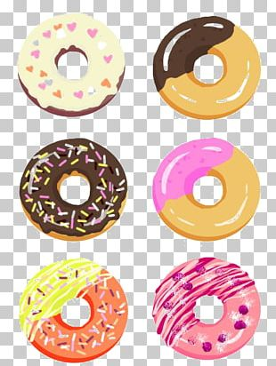 Doughnut Drawing Dessert Illustration PNG