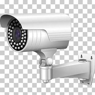 Angle Surveillance Camera Hardware PNG