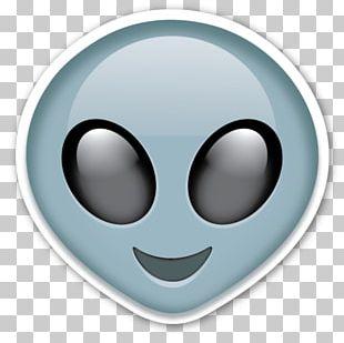 IPhone Emoji Sticker Alien PNG