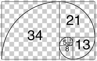 Fibonacci Number Golden Ratio Golden Spiral Golden Rectangle PNG