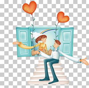Love Romance Valentines Day Cartoon PNG