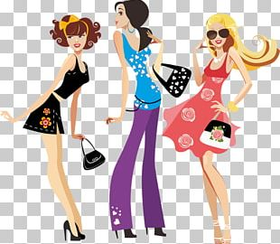 Fashion Design Model PNG