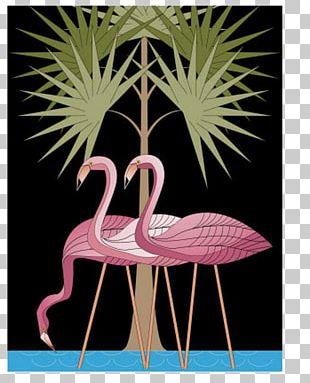 Flamingo AllPosters.com Printing Canvas Print PNG