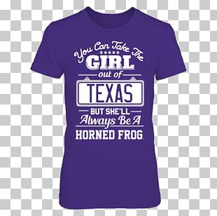 T-shirt Hoodie University Of Central Florida TCU Horned Frogs Gildan Activewear PNG