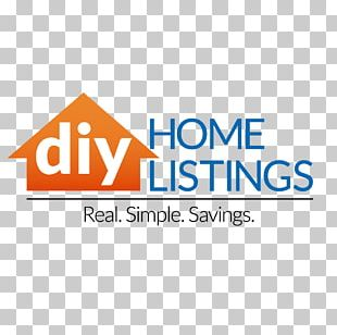 DIY Home Listings Logo Do It Yourself Real Estate Slogan PNG