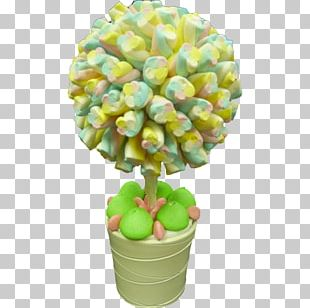 Marshmallow Lollipop Cupcake Candy Tree PNG