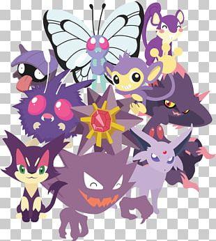 Pokémon Roselia Haunter Furret PNG