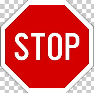 Stop Sign Traffic Sign Vehicle Road PNG