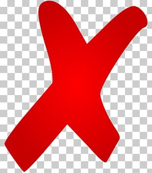 X Mark Symbol Cross PNG
