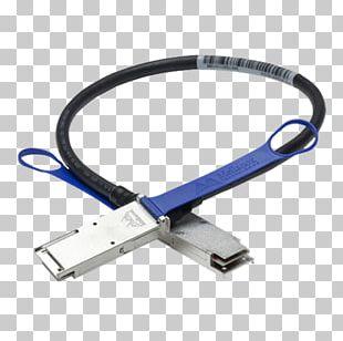 QSFP Electrical Cable Optical Fiber Cable 100 Gigabit Ethernet PNG