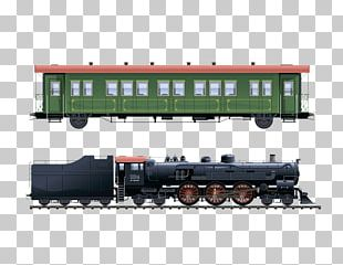 Train Passenger Car Rail Transport Steam Locomotive PNG