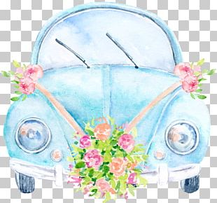 Car Wedding Invitation Volkswagen PNG