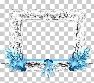 Cobalt Blue Turquoise Frames Body Jewellery PNG