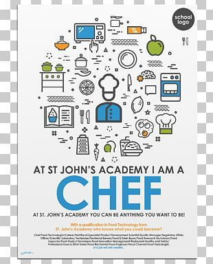 Graphic Design Poster Career Chef PNG