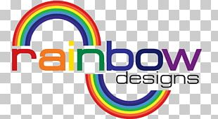 Rainbow Graphic Designer Logo PNG