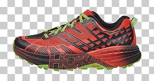 Speedgoat Shoe HOKA ONE ONE Sneakers Trail Running PNG