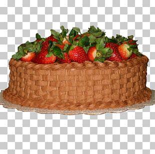 Strawberry Cream Cake Chocolate Cake Shortcake Fruitcake PNG