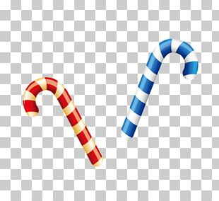 Candy Cane Chocolate Bar Stick Candy Christmas PNG