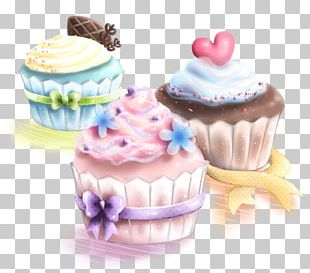 Cupcake American Muffins Drawing Cake Decorating PNG