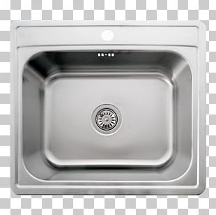 Kitchen Sink Stainless Steel Trap PNG