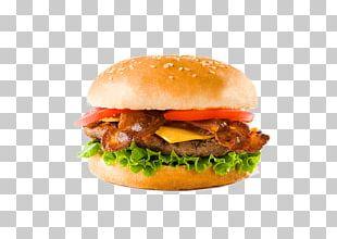 Cheeseburger Hamburger Veggie Burger Chicken Sandwich French Fries PNG