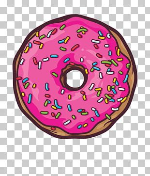 Donuts Frosting & Icing National Doughnut Day Beignet Kawaii Dog PNG