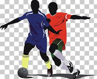 Football Player Illustration PNG