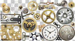 Clock Movement Gear Stock Photography Spare Part PNG