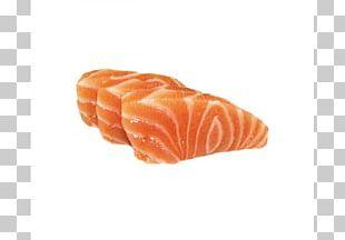Sashimi Smoked Salmon Fish Slice PNG