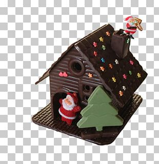 Chocolate Cake Gingerbread House Christmas Gingerbread Man PNG