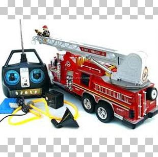 Fire Engine Model Car Fire Department Motor Vehicle PNG
