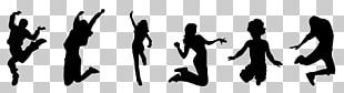 Trampoline Jumping Trampolining Silhouette PNG